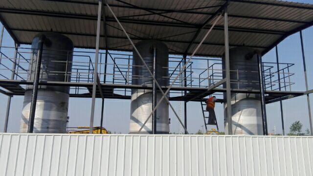 储气罐改造安装工程
